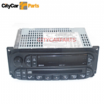 CHRYSLER PT CRUISER 2002 TO 08 RADIO STEREO FM AM CD CASSETTE PLAYER UNIT + CODE